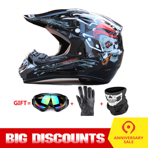 Motorcycle Helmet Full Face He