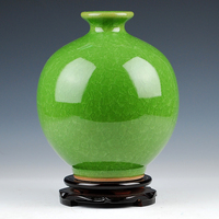 All kinds of colors Chinese ceramic antique vase for home decoration