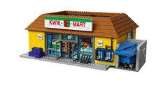 LEPIN City Simpsons the Kwik-E-Mart Building Blocks Classic For Girl Boy Kids Model Toys Minifigures Marvel Compatible Legoe