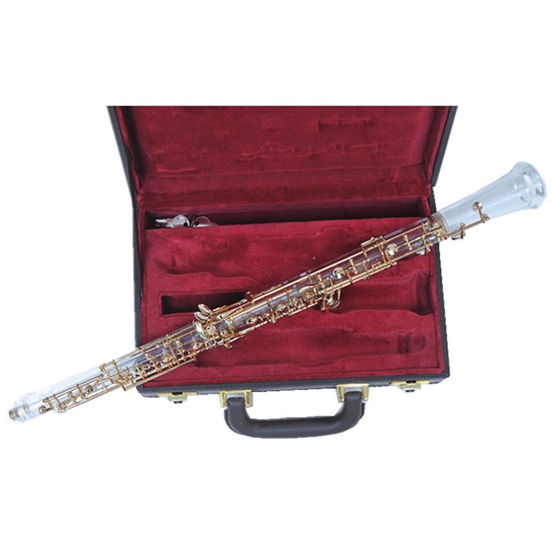 Crystal Oboe For Performance Semi Auto Professional Oboe for Show with case Musical instruments все цены
