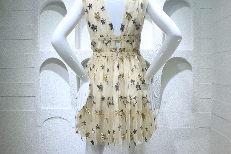 HTB1DkiFPFXXXXbjXFXXq6xXFXXXE - Summer Dress  Star Beads Jacobs Deep V JKP064