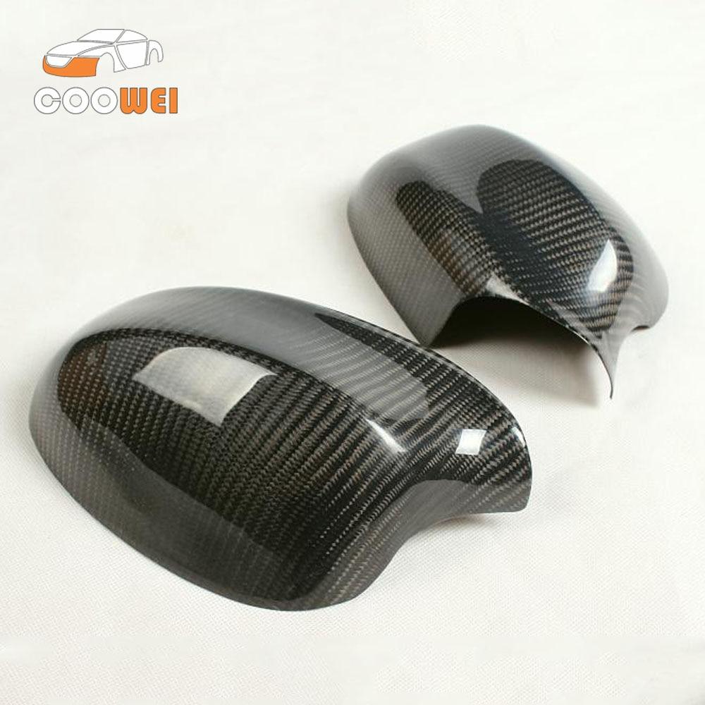 Car accessories Add on Style E90 carbon fiber Auto Side Mirror Caps For BMW E90 2009