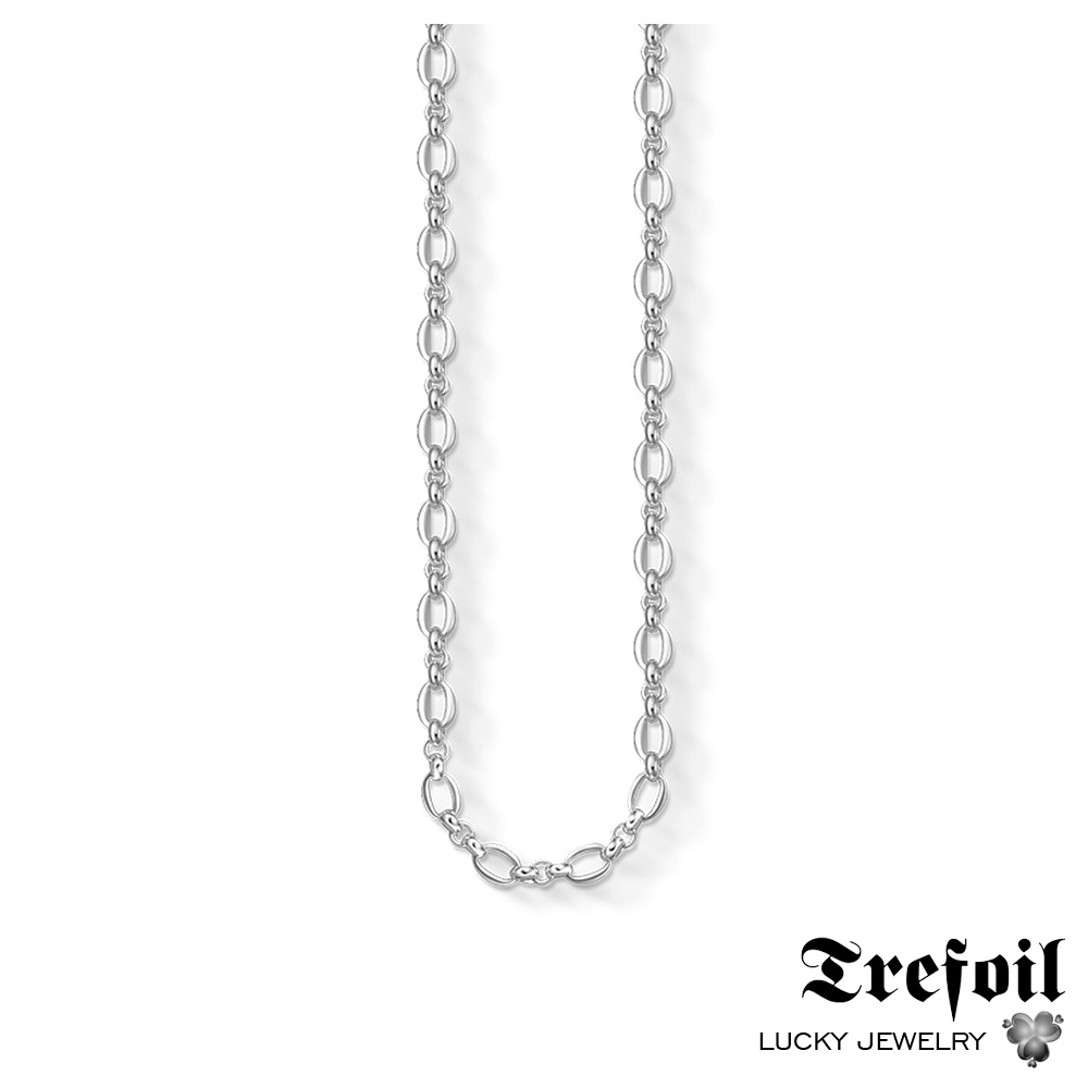 Link Chain Necklace Classic Chains, Fashion 925 Sterling Silver Jewelry Trendy Colares Gift For Men Women Boy Girls 2018 New