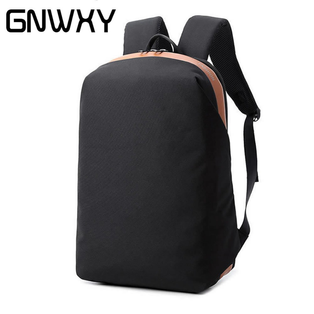 цена Black/Gray City Life Backpack Women Men College School Bag Duffel Bag Waterproof Large Capacity Laptop Backpacks For 15.6 Inch