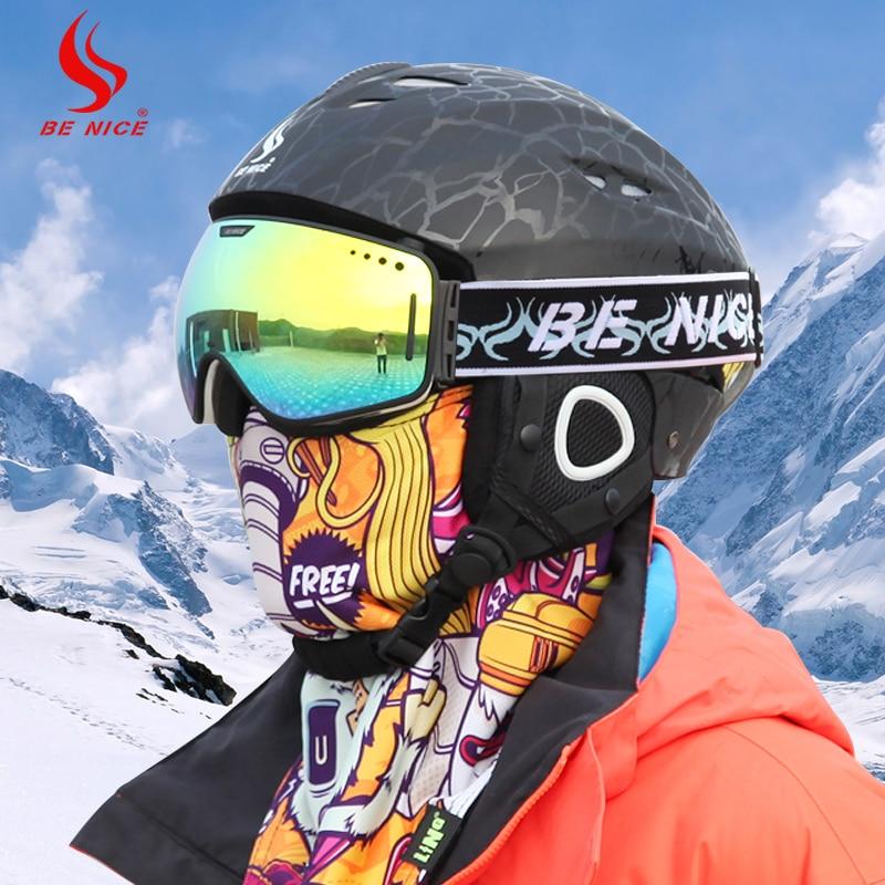 Professional Ski Goggles OTG Anti fog Windproof UV ...