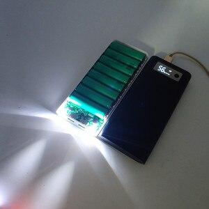 "Image 2 - כוח בנק 18650 מקרה Diy QC3.0 5V 9V 12V סוללה מחזיק מהיר מטען תיבת פגז טעינה מהירה פ""ד 18w 3.0 HENGCHANG Dropshipping"