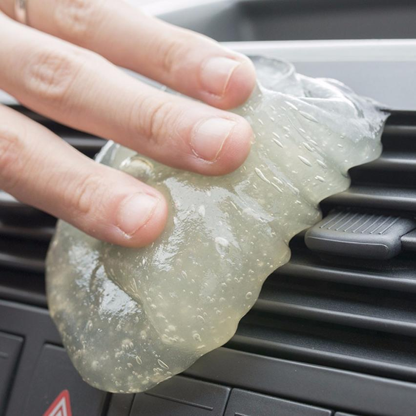 top quality car glue gum gel air conditioner outlet vent interior dust dirt cleaner new fashion. Black Bedroom Furniture Sets. Home Design Ideas