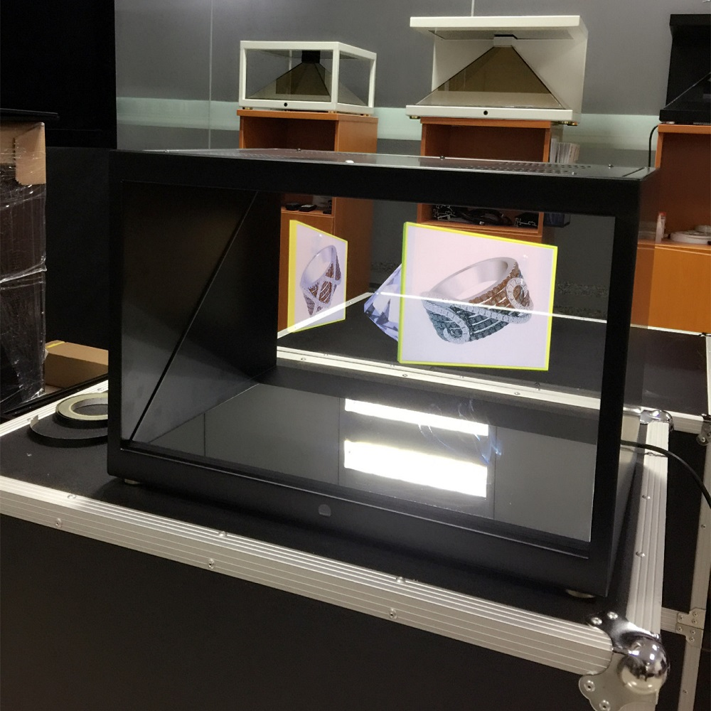 "21,5 ""Holocube 3D Holographic Display, 3D Holographic Schaufenster"