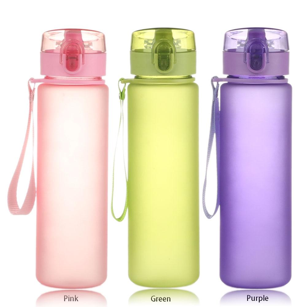 Drinking Plastic Water Bottle 400ml 560ml Curge Flip Top Lid Direct