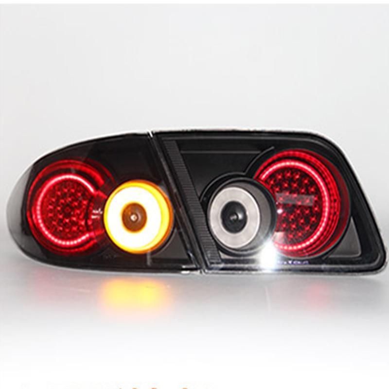 Car Styling For Mazda 6 2003 2015 Taillights Mazda6 LED Tail Light LED Rear Lamp DRL+Brake+Reversing+Signal Light stop LIGHT