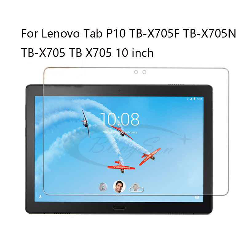 Screen Protector For Lenovo Tab P10 TB-X705F TB-X705N TB-X705 TB X705 10 Inch Tablet Protective Film Guard Tempered Glass