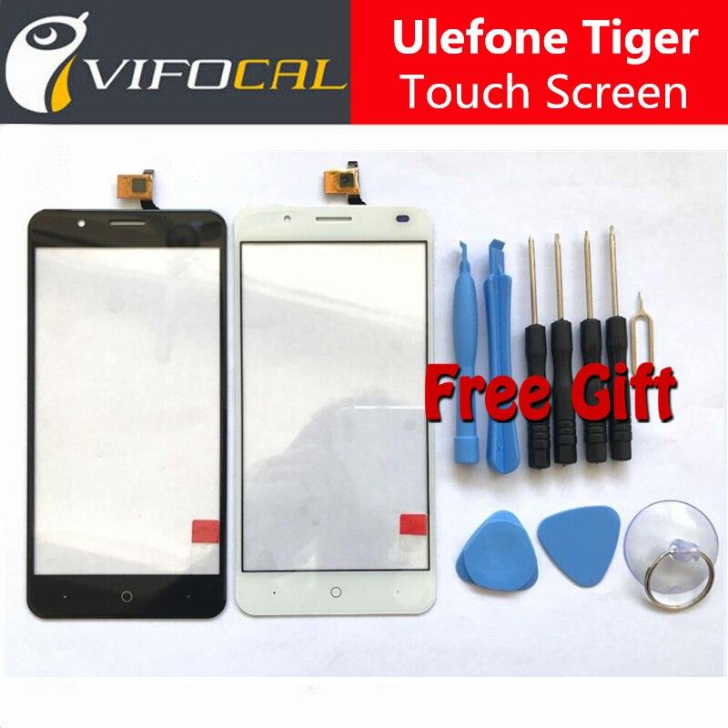 imágenes para Para Ulefone Tiger Touch Screen + Herramientas Set de Regalo Probó Bueno Ensamblaje Del Panel de Cristal Digitalizador Reemplazo Para Ulefone Tigre 5.5 pulgadas