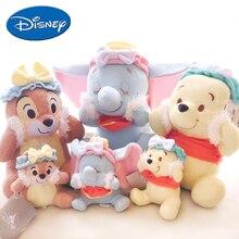 Дисней мультфильм плюшевый поросенок, Дамбо, чип 'n' Дейл медведь мистер Сандерс Куклы Дети Дисней мягкие игрушки для детей девочка подарок