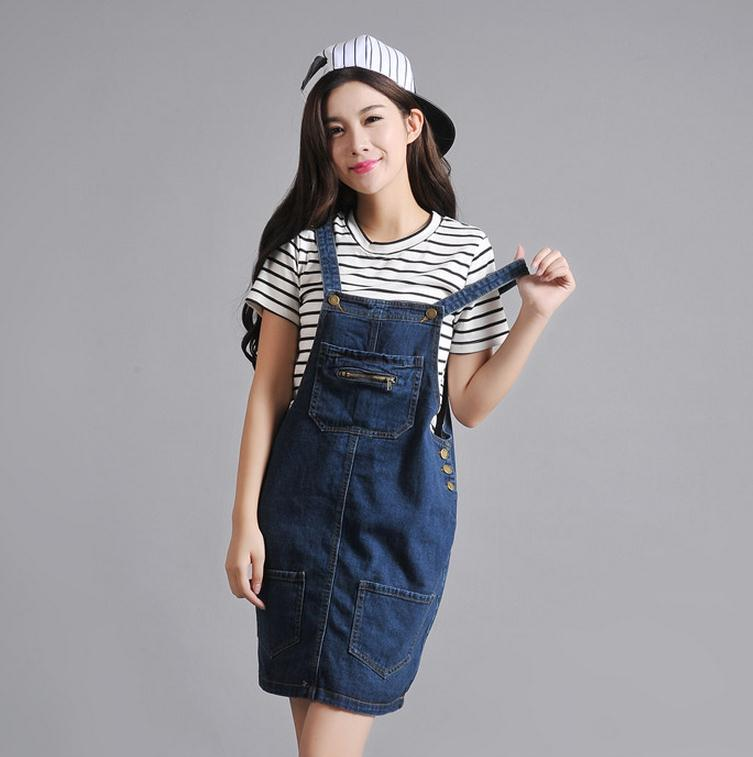 Online Buy Wholesale denim dresses skirts from China denim dresses ...