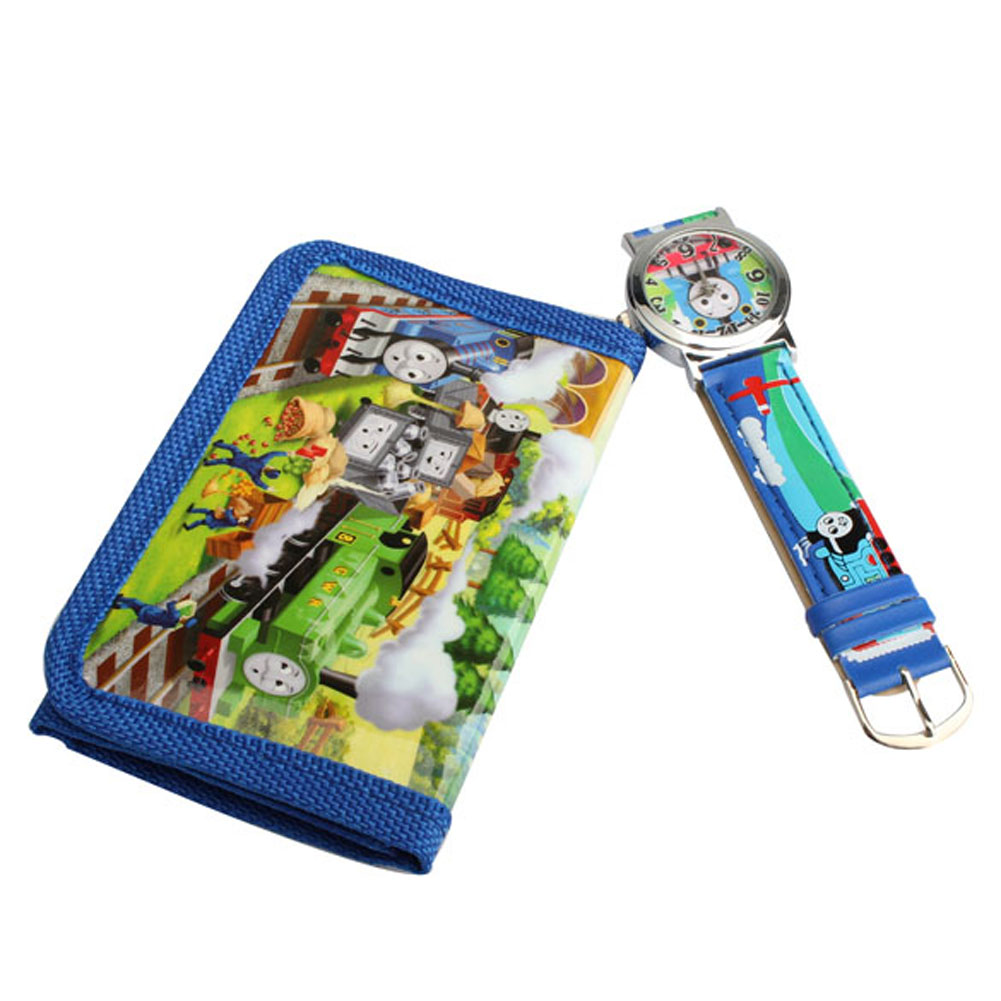 Clock 2 In 1 Cartoon Children Watches With Purse Thomas Friends Quartz Watch Lovely Purse For Kids quick installation 2 room 1 hall 5 window 8 10 people waterproof outdoor garden fishing hiking camping tent drop shipping