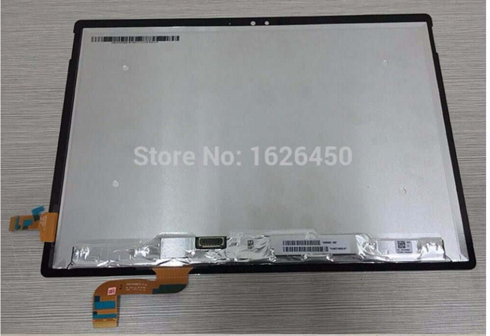 LCD Complet Pour Microsoft Surface Book L'assemblée de convertisseur analogique-numérique d'écran tactile d'affichage d'affichage à cristaux liquides de remplacement réparation panneau fixer partie