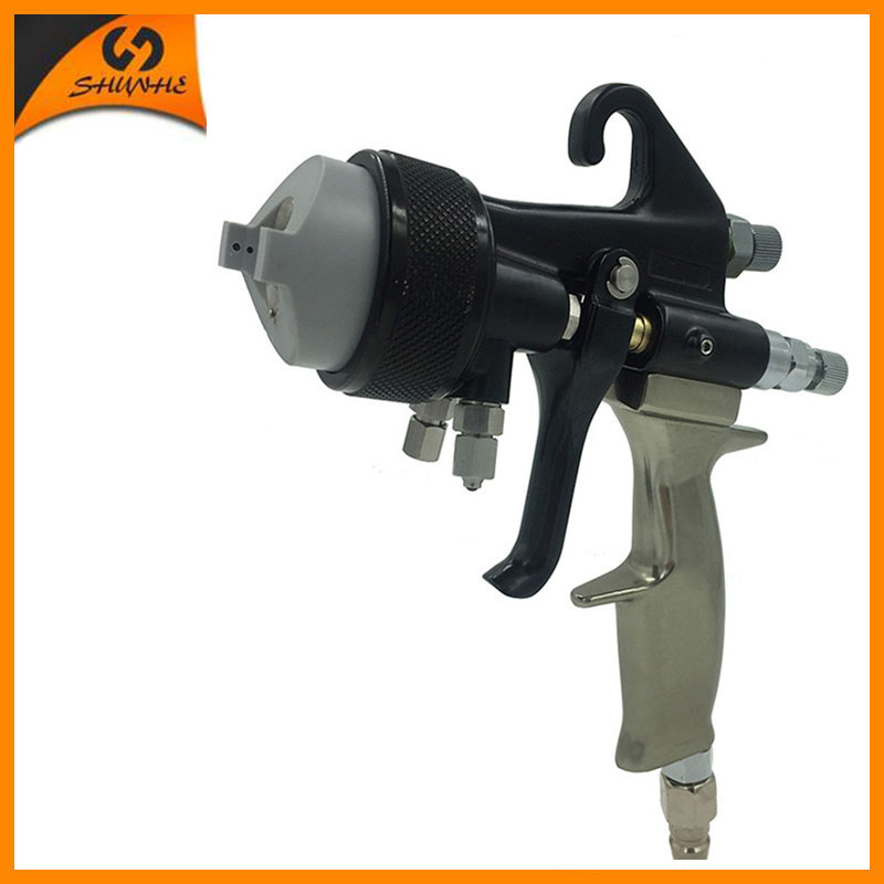 SAT1205 paint gun hvlp air polyurethane foam spray mirror chrome paint nano chrome paint sat1189 free shipping dual head spray gun paint spray gun air compressor silver mirror chrome spray gun hvlp