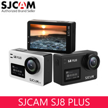SJCAM SJ8 PLUS Helmet Action Camera 4K 30FPS Sports Cam with EIS 170 Wide Angle Touch Screen for Underwater Outdoor Activity