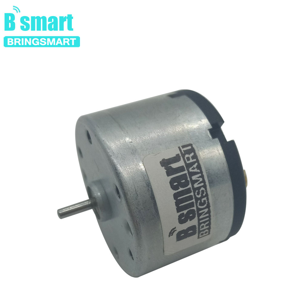 Bringsmart RA-520 DC 12V 24V Micro Motor Electric Motor For Medical equipment, cash registers, gearmotor Mini Motor