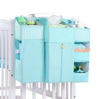 Baby Bed Baby Bedding Set Hanging Storage Bag Portable Cot Crib Organizer Storage Bag Children Essentials Diaper Pocket For Crib