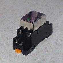 A normalmente abierto uno normalmente cerrado 10A DC relé de estado sólido SDD 10HDZ Salida de carril guía de enchufe 10 50VDC