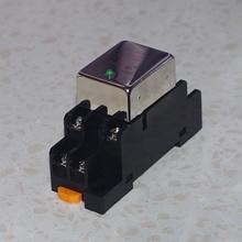 EIN Schließer Ein Normal Geschlossen 10A DC Solid State Relais SDD 10HDZ Buchse Führungsschiene ausgang 10 50VDC