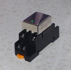 Image 1 - Normalnie otwarty jeden styk normalnie zamknięty 10A DC przekaźnik półprzewodnikowy SDD 10HDZ gniazdo szyna prowadząca wyjście 10 50VDC
