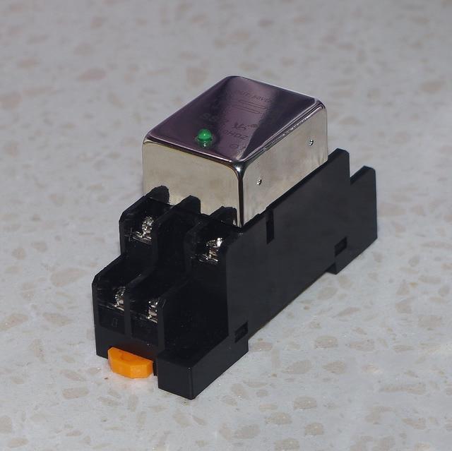 Normalnie otwarty jeden styk normalnie zamknięty 10A DC przekaźnik półprzewodnikowy SDD 10HDZ gniazdo szyna prowadząca wyjście 10 50VDC