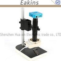16mp Full HD 1080 P 60fps HDMI USB Выход промышленный микроскоп Камера + 200x c креплением + 56 свет кольцо света Просветителя лампа