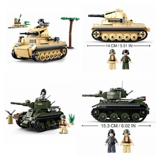 347/356 PCS model digital military tank compatible legoings army soldiers weapons building blocks childrens toys gifts