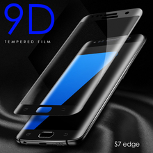 9D Protective Glass on the for Samsung Galaxy S10 PLlus S9 S8 S6 S7 Edge note8 Tempered Screen Protector Curved