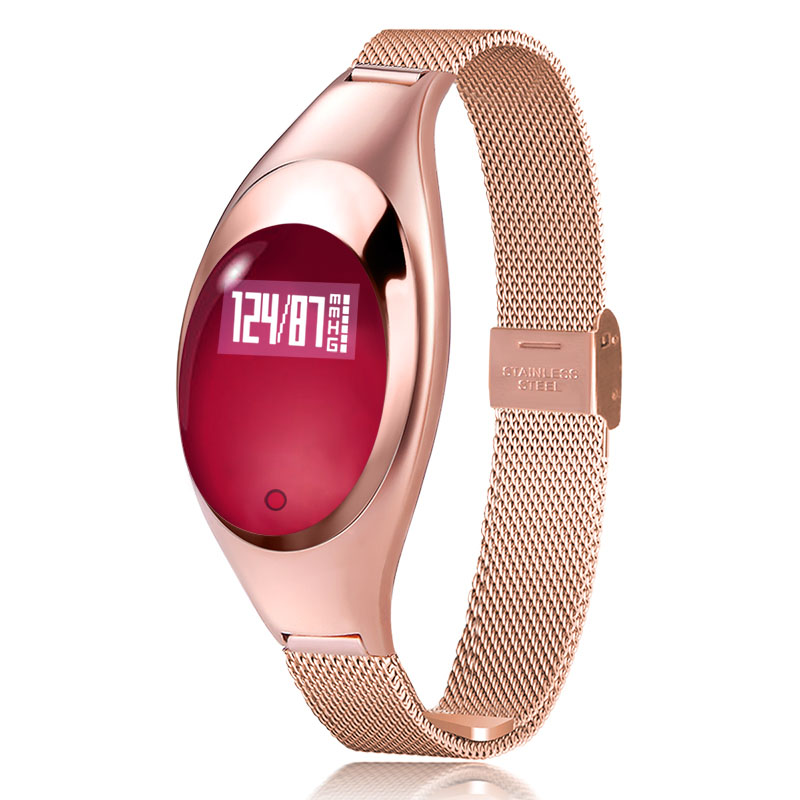 Smart Watch Women Bracelet Smartwatches For Android IOS with Blood Pressure Heart Rate Monitor Pedometer Fitness Tracker Relojs gs8 smart watch sim card call sms remind blood pressure heart rate tracker bluetooth 4 0 pedometer smartwatches for android ios