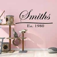 Calcomanías de pared de arte Pretty Smith impermeables para habitaciones de niños decoración del hogar Estilo nórdico decoración del hogar
