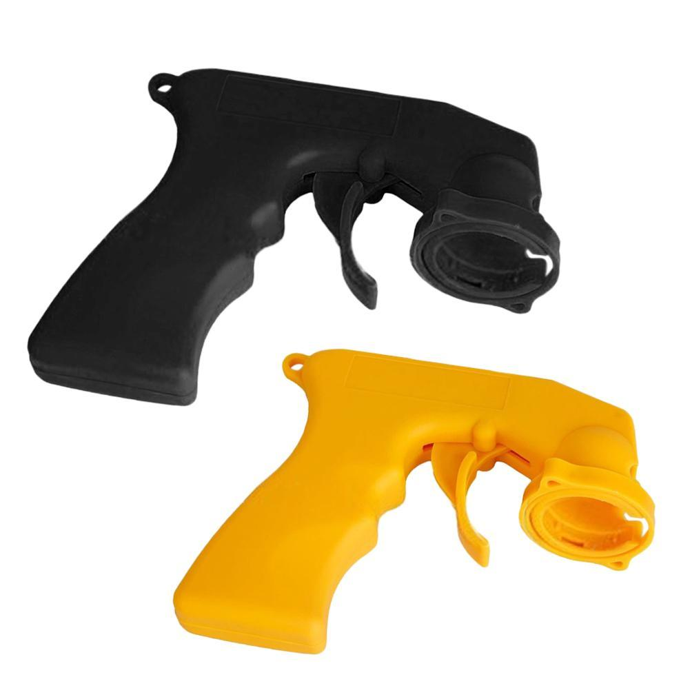 Aerosol Spray  Handle With Full Grip Trigger Adapter Locking Collar For Car Paint Care Maintenance Painting Paint Tool