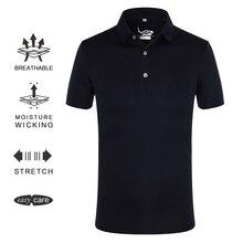 EAGEGOF Мужская рубашка для гольфа с коротким рукавом высокая эластичная Спортивная одежда Мужская быстросохнущая одежда для гольфа vs Descente одежда для гольфа