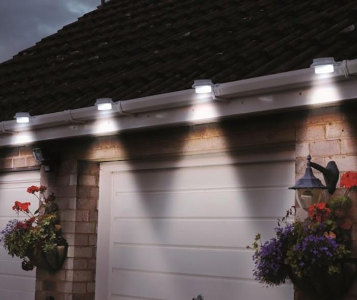 Solar Panel Garden Light 3 Led Lights