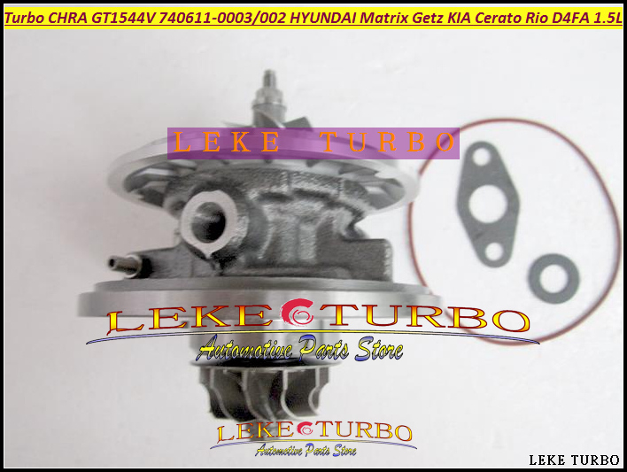 Turbo cartridge chra GT1544V 740611 782403 740611-5002S 28201-2A400 28201-2A100 28201-2A120 For Hyundai Getz Matrix D4FB U1.5L fishing lure minnow crankbait artificial hard swim bait hook tackles 3d eyes new