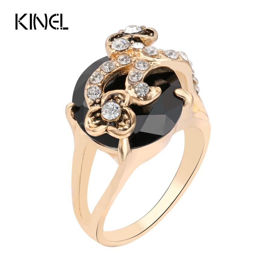 aliexpress buy kinel jewelry black ring for
