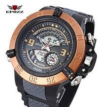 Спортивные часы для мужчин 50 М водонепроницаемый военные часы montre homme reloj hombre marca relogio masculino esportivo марки de luxe