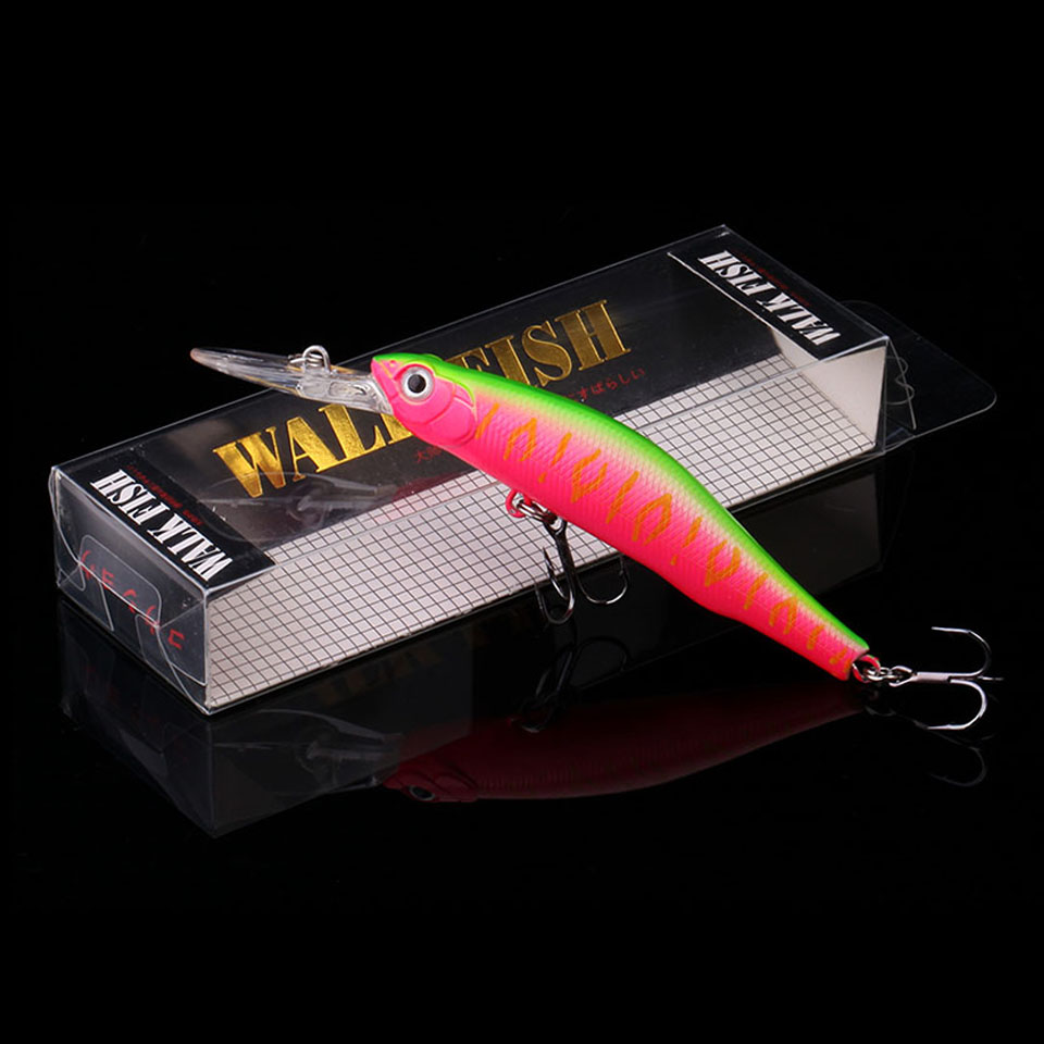 WALK FISH 10.5cm 8.5g magnet weight system long casting New model fishing lures hard bait dive 2m quality wobblers minnow Pesca