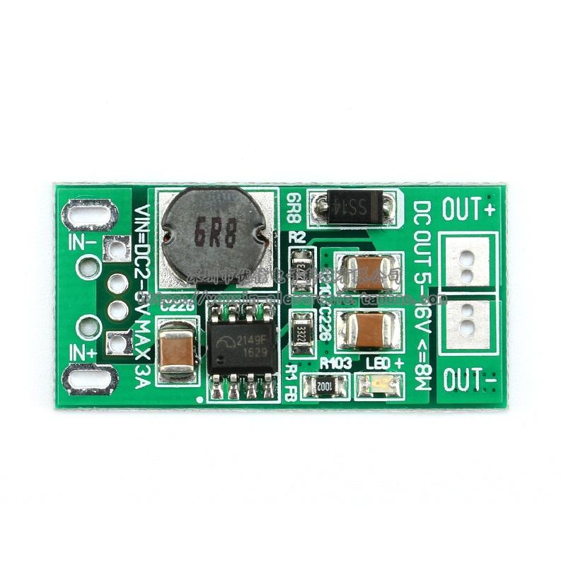 8W USB Input DC-DC 5V to 12V Converter Step Up Module Power Supply Boost Module 2016 New jtron dc 12v to dc 5v 3a reduction voltage module w dual usb female port black