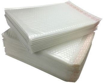 20*25+4cm White Bubble Envelope Bubble Mailing Bags Shipping Shockproof Packaging Bubble Bag 100pcs