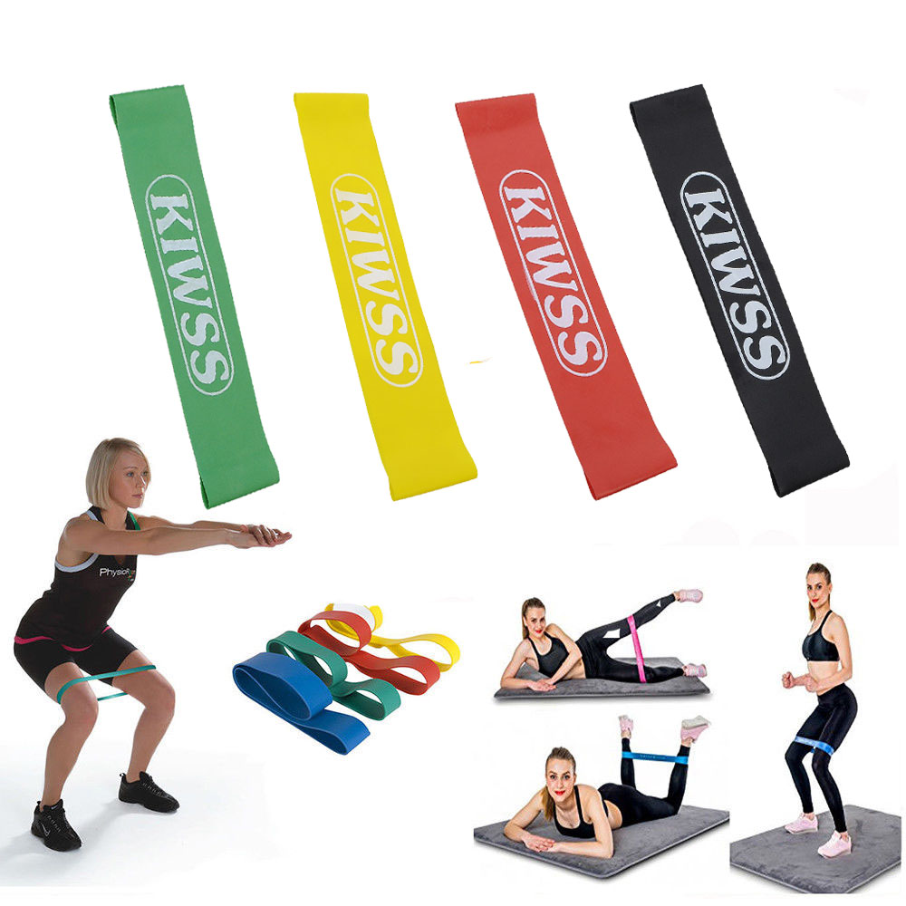 Yoga Pilates Resistance Band Elastic Bands for Exercise Fitness
