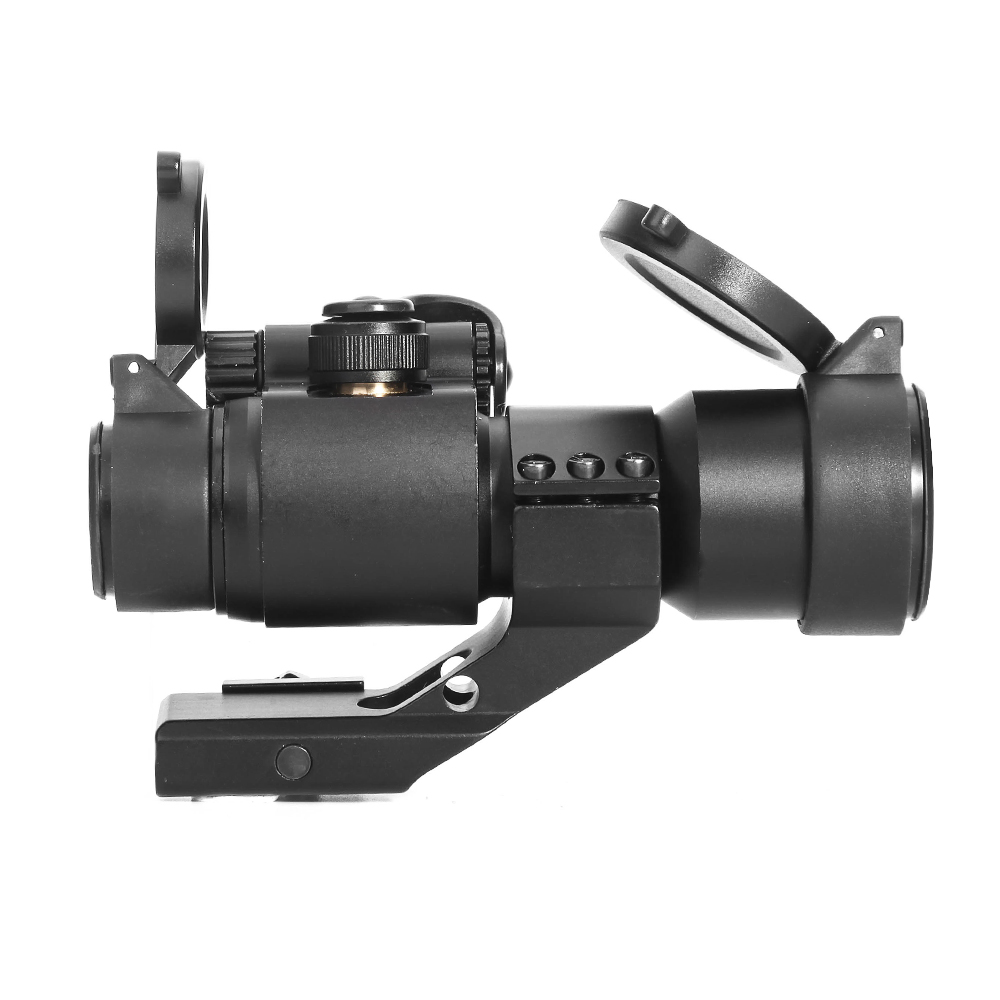 Image 4 - LUGER Holographic Red Dot Sight M2 Hunting Optic Rifle Scopes With 20mm 11mm Rail Mount Collimator Sight Air Gun Hunting-in Riflescopes from Sports & Entertainment