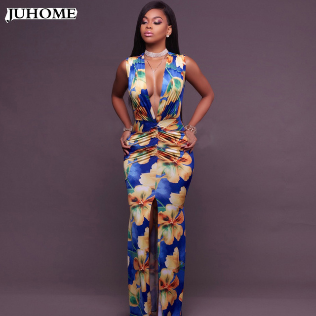 88c0f8c00c5b high quality long Prom event formal dress 2018 sexy Women's Tunic clothes  sexy vintage maxi dress