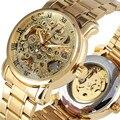 Роскошные механические часы с скелетом для мужчин  открытые механические часы  самосветящиеся Функциональные Механические наручные часы