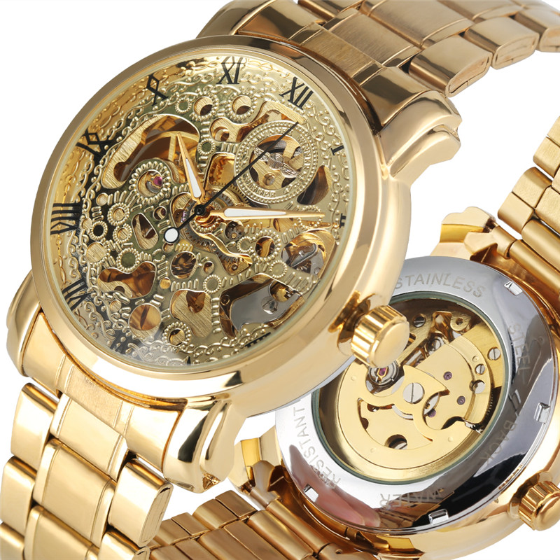 Skeleton Mechanical Watch for Men Luxury Hollow Out Mechanical watches Self Wind Luminous Functional Mechanical WristwatchesSkeleton Mechanical Watch for Men Luxury Hollow Out Mechanical watches Self Wind Luminous Functional Mechanical Wristwatches