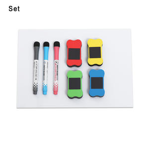 Pen Magnet-Eraser Whiteboard Memo Office-Stationerys Writing-Tools A4 Fridge Flexible