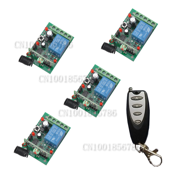 DC24V 12CH RF wireless remote control switch system Receiver&Transmitter Momentary Toggle Latched Adjust Learning code new rf wireless switch wireless remote control system 2transmitter 12receiver 1ch toggle momentary latched learning code 315 433