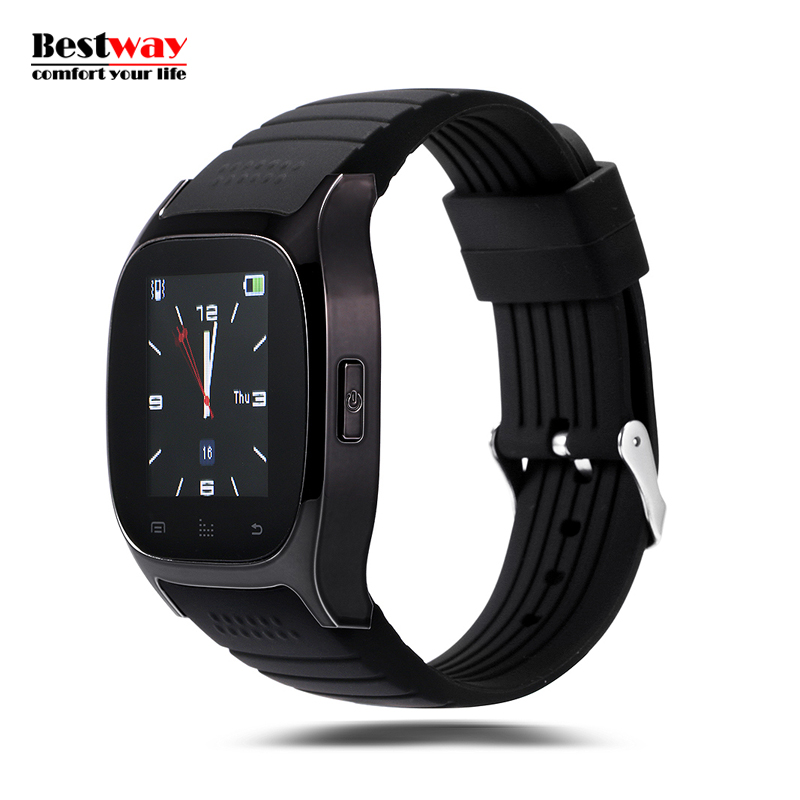 M26 Bluetooth font b Smartwatch b font for Android IOS Digital watch SMS Reminding Relojes Smart